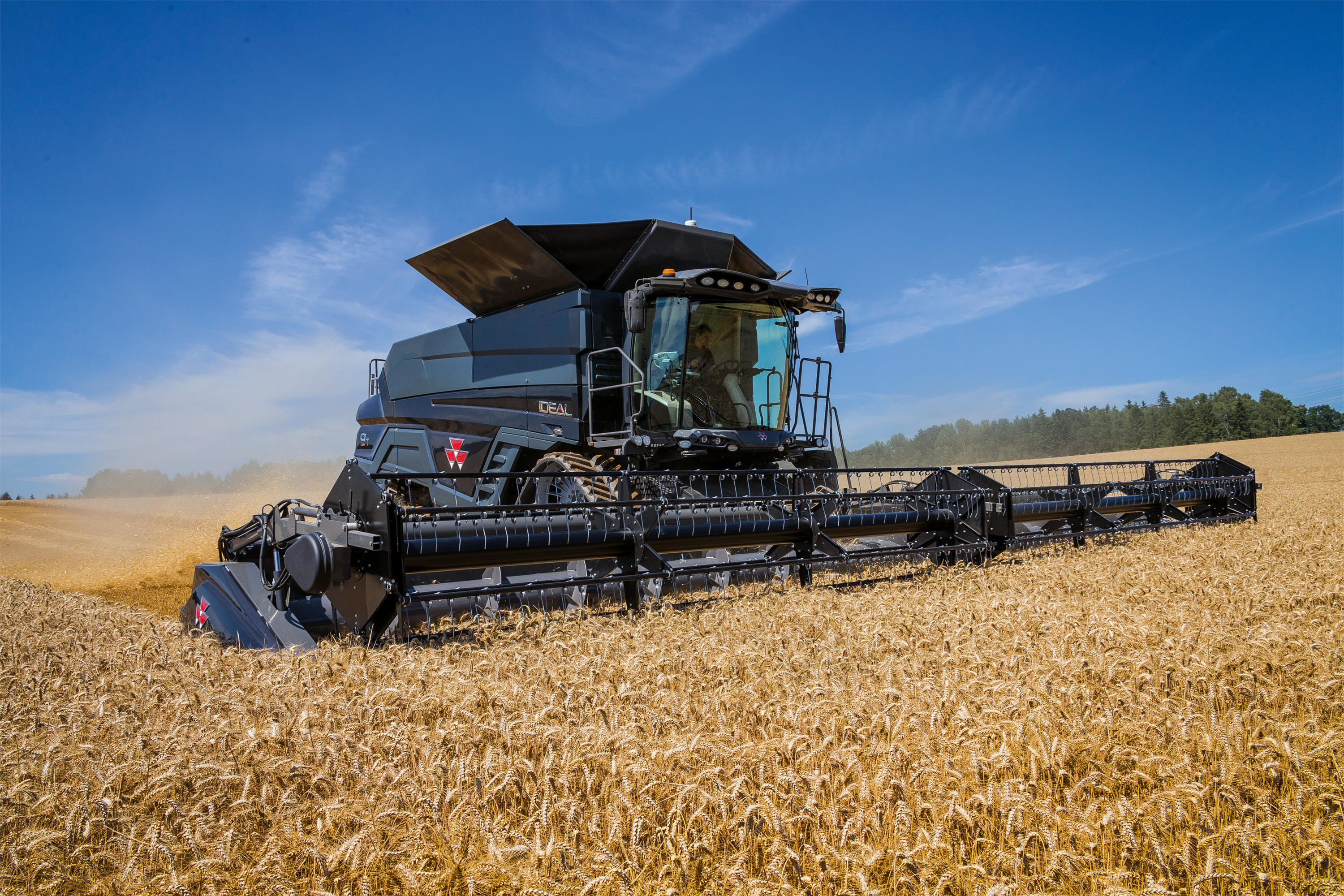 Massey Ferguson Combines : New ideal from massey ferguson combine harvesters deliver
